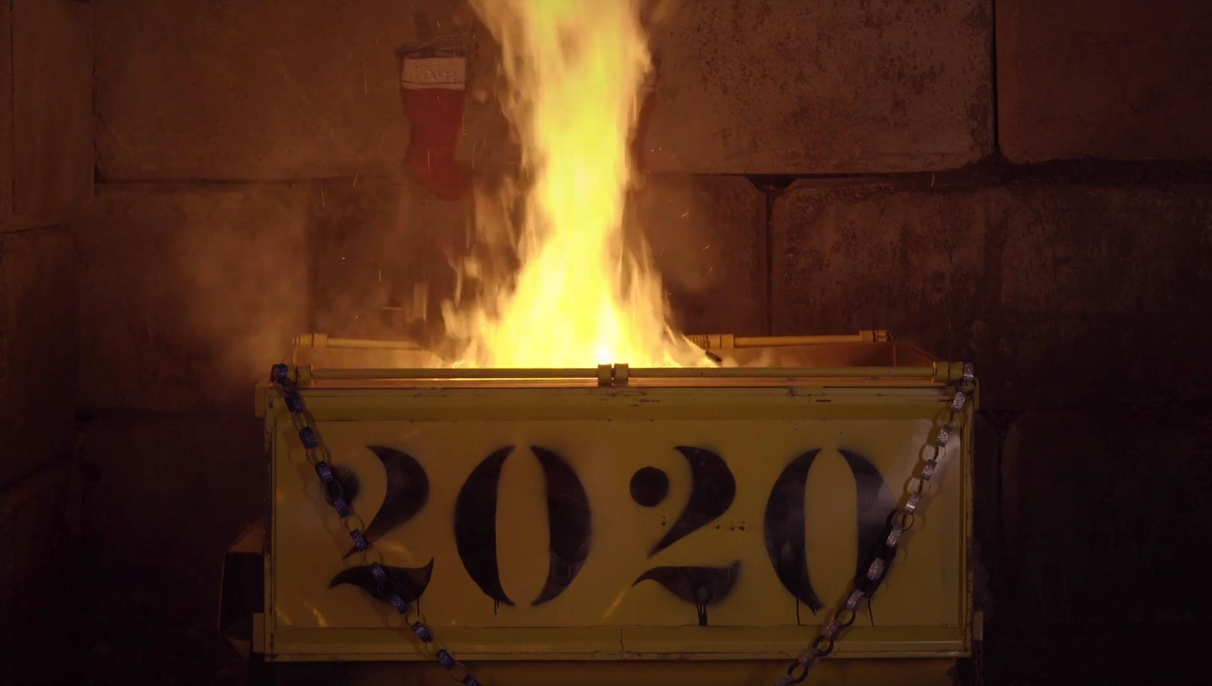2020dumpsterfire
